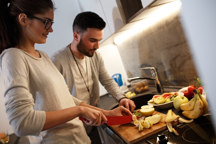 healthy cooking at home